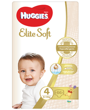 Huggies mähkmed Elite Soft 4, 8-14kg, 66 tk