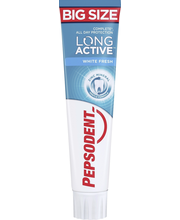 Hambapasta Long Active White Fresh 125 ml