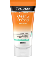 Näomask Clear Defend Wash 150 ml