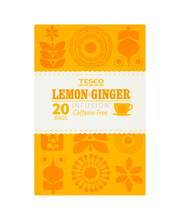 Sidruni-ingveritee 20 x 2 g, kofeiinivaba