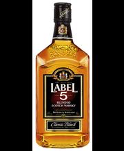 Label 5 Classic Black Scotch Whisky, 500 ml