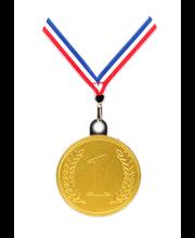 Steenland piimašokolaadist kaelariputatav medal nr.1 23 g