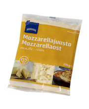 Mozzarella riivjuust