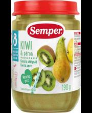 Semper kiivi-õuna-pirni püree 190 g, alates 8-elukuust