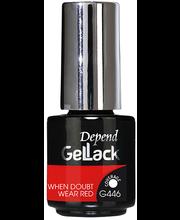 Geellakk GelLack 446 When Doubt Wear Red 5 ml