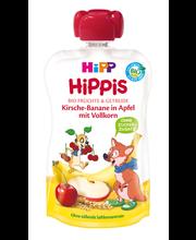 Hipp Hippis õuna-kirsi-banaanipüree 100g, öko, alates 6-elukuust