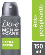 Spreideodorant Men+Care Extra Fresh 150 ml
