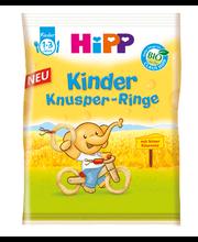 Hipp krõbedad teraviljarõngad juustuga, öko, alates 1-eluaastast