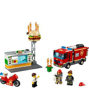 60214 City Fire Burgerikohviku tulekahju kustutamine