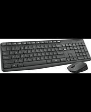 Klaviatuur+hiir MK235 juhtmevaba, must