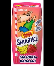 Limpa smuutike maasika-banaani, 200 ml