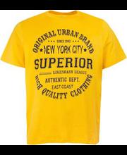 Meeste t-särk, kollane xl