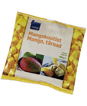 Mangokuubikud, 300 g