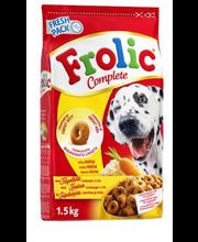 Täissööt koertele linnuliha, köögivilja ja riisiga 1,5 kg