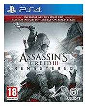 PS4 mäng Assassin's Creed III Remastered