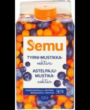 Semu astelpaju-mustikanektar, 500 ml