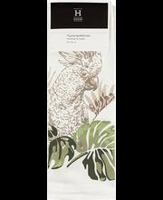 Padjakate Ethno Jungle Parrot 50x50 cm, roheline