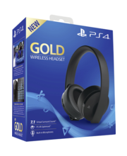 Kõrvaklapid PS4 Gold Wireless