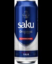 Saku Originaal alk.vaba õlu, 500ml