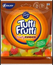 Tutti Frutti Choco kummikommid 170 g