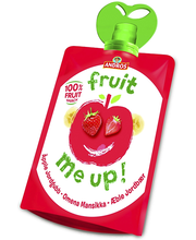 Andros Fruit Me Up! õuna-maasika-banaanimaitseline vahepala 90 g