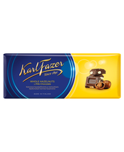 Karl Fazer piimašokolaad tervete metsapähklitega 200 g