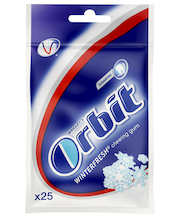 Orbit Winterfresh närimiskummid 35 g