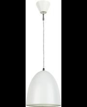 Rippvalgusti Dome, 20 cm, valge 1X45W, E27