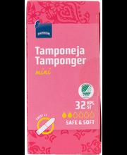 Rainbow Mini tampoonid 32 tk