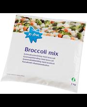 Brokoli, lillkapsas, porgand, 1 kg