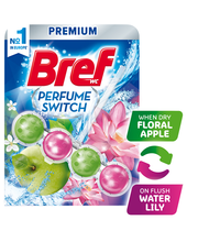 Bref Scent Switch Apple-Water Lily WC-värskendaja 50 g