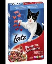Kuivtoit kassidele veiseliha, maksa, kanaliha ja köögiviljaga...