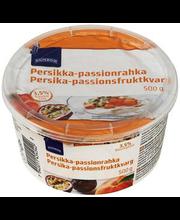 Virsiku-passioni kohupiimakreem, 500 g