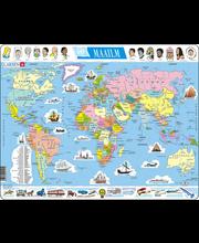 Puzzle Maailmakaart