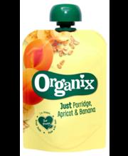Organix aprikoosi-banaani puder 100 g, alates 6-elukuust