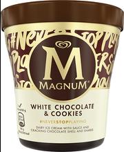 Valge šokolaadi ja küpsise jäätis, 440 ml