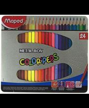 Värvipliiats 24 tk