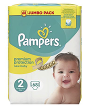 Pampers teipmähkmed New Baby 2  4-8 kg