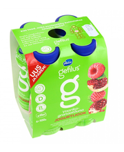Vaarika-granaatõuna jogurtijook, 4 x 100 g
