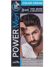 Juuksevärv Power Men 4 Natural Brown