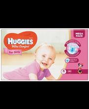 Huggies teipmähkmed Ultra Comfort 4 Mega Pack, tüdrukule, 7-1...