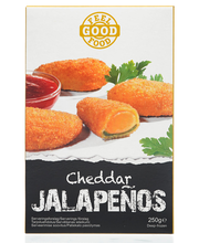 Jalapenod Cheddari juustuga ja dipikaste, 250 g