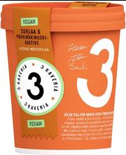 Vegan šokolaadi-pähklijäätis, 500 ml