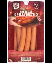 Kabanoss grillvorstid 375 g