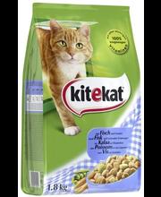 Kitekat kuivtoit kassidele kala ja köögiviljadega, 1,8 kg