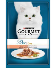 Täissööt kassidele lõhe ja valge kalaga 85 g