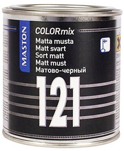 Alküüdvärv ColorMix matt must121 250ml