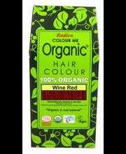 Juuksevärv Colour Me Organic Auburn Red 100g