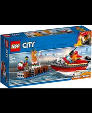 60213 City Fire Kaiäärne tulekahju