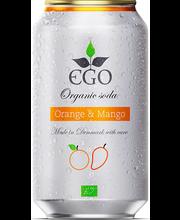 Ego Orange-Mango orgaaniline karastusjook, 330 ml